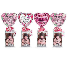 Valentine Gift Plush/Chocolate from your local Clinton,TN florist, Knight's Flowers