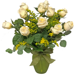 Creamy Creme De la Creme Roses from your local Clinton,TN florist, Knight's Flowers