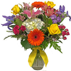 Summer Garden Bouquet from your local Clinton,TN florist, Knight's Flowers