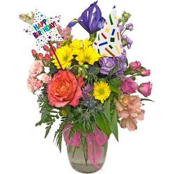 Booming Birthday  from your local Clinton,TN florist, Knight's Flowers