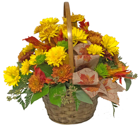 Autumn Meadows Basket from your local Clinton,TN florist, Knight's Flowers