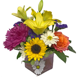 Sunny Days Bouquet from your local Clinton,TN florist, Knight's Flowers