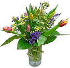 Springtime Tulips Bouquet from your Clinton, TN florist