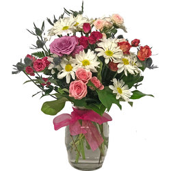 Color Splash Spring Bouquet from your local Clinton,TN florist, Knight's Flowers