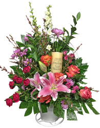 Memories Shine Through Sadness Arrangement from your local Clinton,TN florist, Knight's Flowers