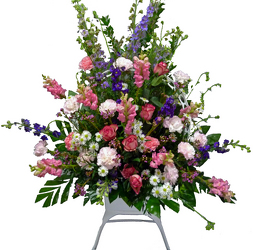 Peaceful Memories Funeral Basket from your local Clinton,TN florist, Knight's Flowers