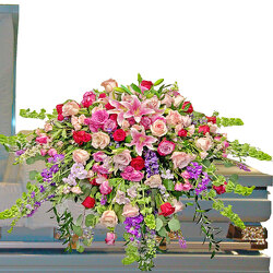 Enduring Love Casket Spray from your local Clinton,TN florist, Knight's Flowers