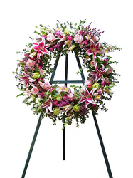 Enduring Tribute Wreath from your local Clinton,TN florist, Knight's Flowers