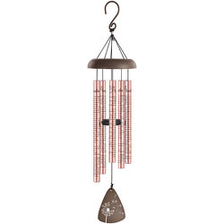 23RD Psalm Rose Gold Wind Chime from your local Clinton,TN florist, Knight's Flowers