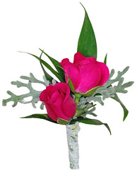 Love is in the Air Boutonniere from your local Clinton,TN florist, Knight's Flowers