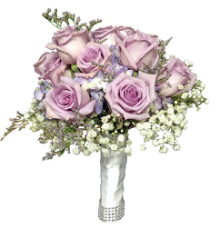 Lavender Day Brides Bouquet from your local Clinton,TN florist, Knight's Flowers
