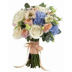 Blushing Wedding Bouquet from your local Clinton,TN florist, Knight's Flowers