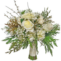 Wild Romance Bride Bouquet from your local Clinton,TN florist, Knight's Flowers