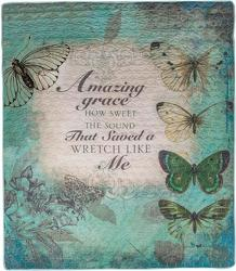 Amazing Grace Inspirational Quilt from your local Clinton,TN florist, Knight's Flowers