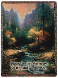 Creekside Trail Tapestry Throw from your local Clinton,TN florist, Knight's Flowers
