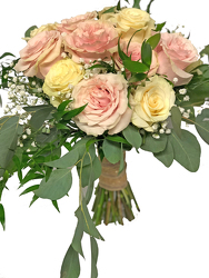 Blushing Bride Wedding Bouquet from your local Clinton,TN florist, Knight's Flowers