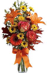 Burst of Autumn from your local Clinton,TN florist, Knight's Flowers