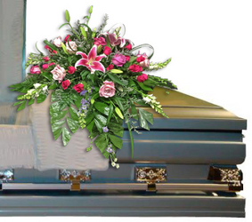 Graceful Memories Casket Spray from your local Clinton,TN florist, Knight's Flowers