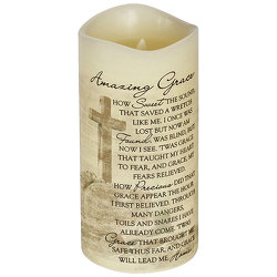 Amazing Grace Flameless Candle  from your local Clinton,TN florist, Knight's Flowers