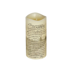 Stairway Flameless Candle  from your local Clinton,TN florist, Knight's Flowers
