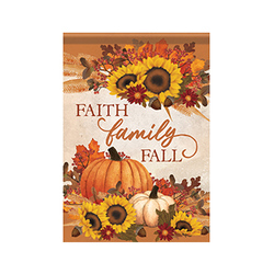 Faith, Family and Fall Flag from your local Clinton,TN florist, Knight's Flowers
