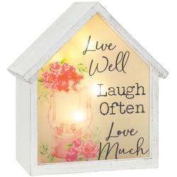 Live Well LED House from your local Clinton,TN florist, Knight's Flowers