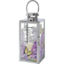 Amazing Grace Butterfly Lantern from your local Clinton,TN florist, Knight's Flowers