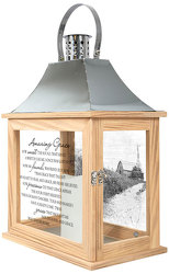 Amazing Grace Memorial Lantern from your local Clinton,TN florist, Knight's Flowers