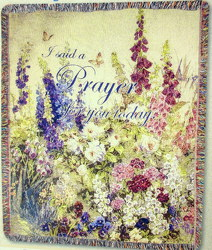 Butterfly Paradise Tapestry Throw from your local Clinton,TN florist, Knight's Flowers