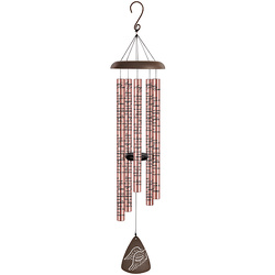 Angel's Arms Rose Gold Wind Chime 44