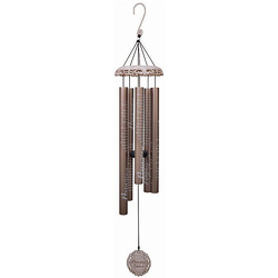 Amazing Grace Vintage White Wind Chime 40