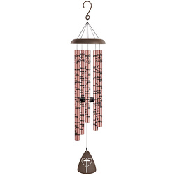 Comfort & Light Rose Gold Wind Chime 44