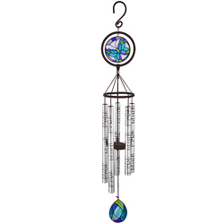 Family Stained Glass Wind Chime 35