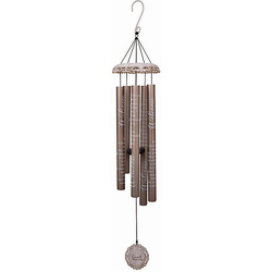 Friends Welcome Vintage White Wind Chime 40