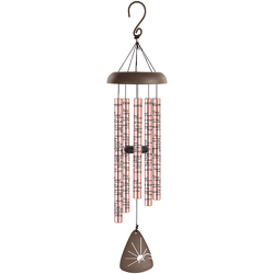 Memories Rose Gold Wind Chime 44