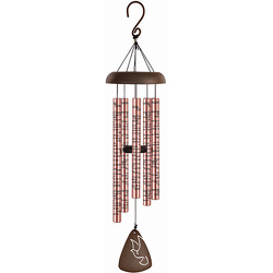 Memories Rose Gold Wind Chime 30