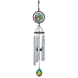 Serenity Prayer Stained Glass Wind Chimes 35