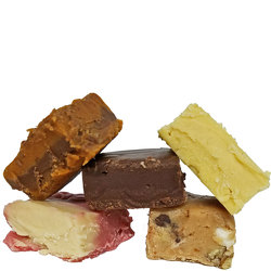 Assorted Gourmet Fudge from your local Clinton,TN florist, Knight's Flowers