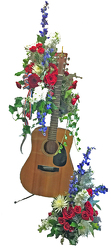 Guitar Arrangement  from your local Clinton,TN florist, Knight's Flowers