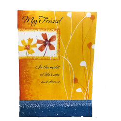 My Friend Card from your local Clinton,TN florist, Knight's Flowers