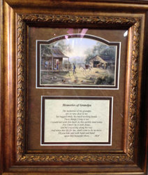 Memories of Grandpa Picture Frame from your local Clinton,TN florist, Knight's Flowers