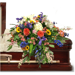 No Greater Love Casket Spray from your local Clinton,TN florist, Knight's Flowers