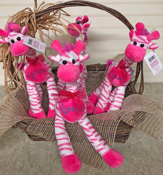 Plush Zebra from your local Clinton,TN florist, Knight's Flowers
