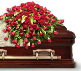 Greatest Love Casket Spray from your local Clinton,TN florist, Knight's Flowers