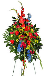 Sincerest Sympathy Spray from your local Clinton,TN florist, Knight's Flowers