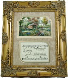 Amazing Grace Frame Art from your local Clinton,TN florist, Knight's Flowers