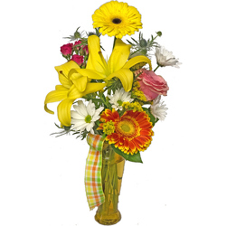Bright Wishes Bouquet from your local Clinton,TN florist, Knight's Flowers