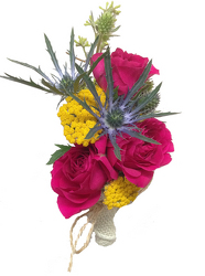 Color Me Pretty Corsage from your local Clinton,TN florist, Knight's Flowers