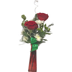 Holiday Cheer from your local Clinton,TN florist, Knight's Flowers
