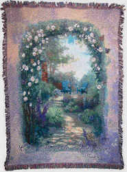 Morning Butterfly Tapestry Throw from your local Clinton,TN florist, Knight's Flowers